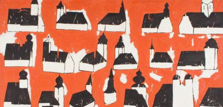 Włodzimierz Pawlak, Dwadzieścia jeden kościołów, 1988, fot. J. Gładykowski