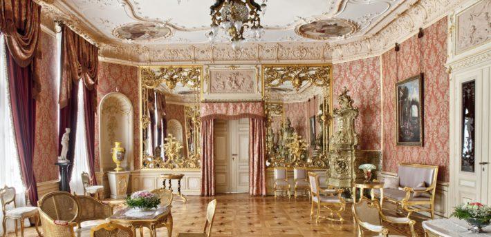 Salon lustrzany w Pałacu Herbsta