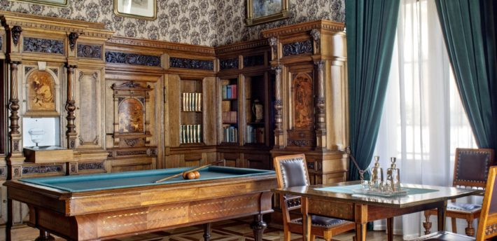Salon myśliwski w Pałacu Herbsta
