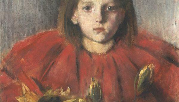 Dziewczynka ze słonecznikami, (Słonecznik)