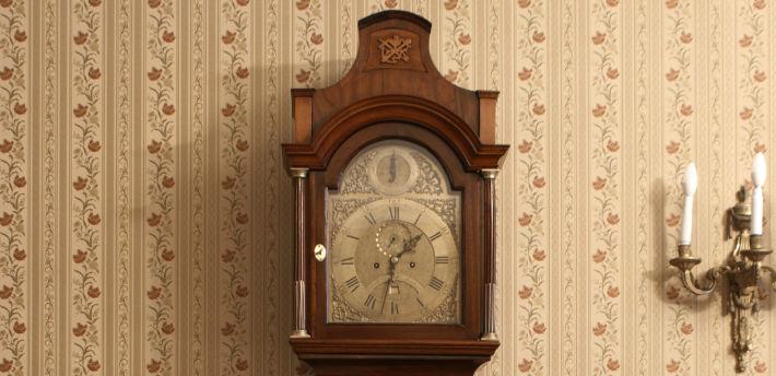Zegar szafkowy podłogowy