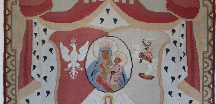 Kilim z herbem Rzeczpospolitej Trojga Narodów
