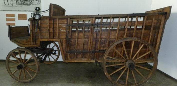 Handlarka – wóz do bydła