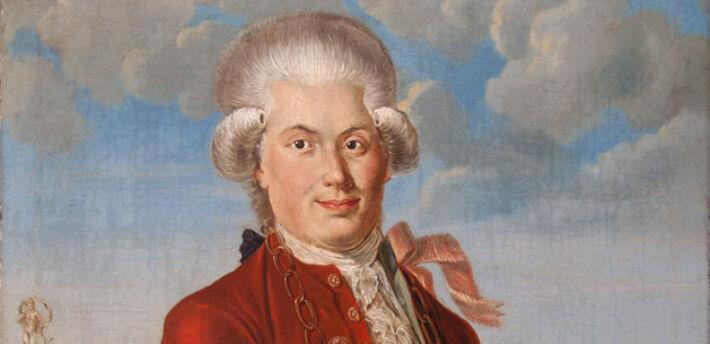 Portret króla kurkowego Carla Gottlieba Kellera