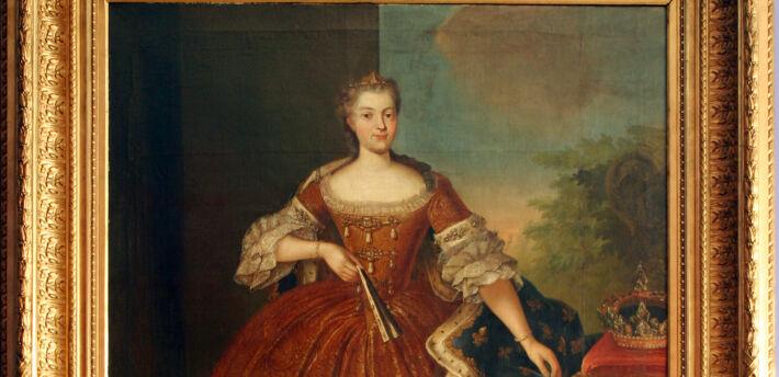 Portret Marii Leszczyńskiej
